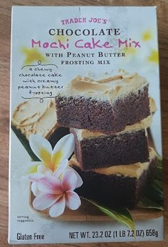 Peanut Butter Frosting, Creamy Peanut Butter, Chocolate Flavors, Chocolate Cake, Mochi Cake, Stick Of Butter, Baking Pans, Gluten Free, Snacks