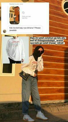 Modest Fashion Hijab, Modern Hijab Fashion, Casual Hijab Outfit, Ootd Hijab, Hijab Chic, Casual Outfits, Online Clothing Stores, Online Shopping Clothes, Online Shop Baju
