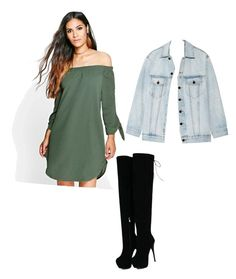 Casual green by cinthiaponce-1 on Polyvore featuring polyvore, fashion, style, Boohoo, Alexander Wang and clothing