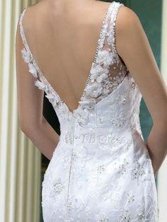Moderno vestido de novia