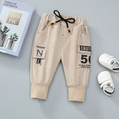 Children Wear, Kids Wear, Joggers, Sweatpants, French Street Fashion, Printed Trousers, Boys Pants, Matching Family Outfits, Baby Sale