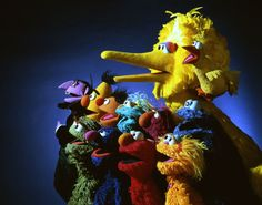 sesame street muppets   is for Sesame Street