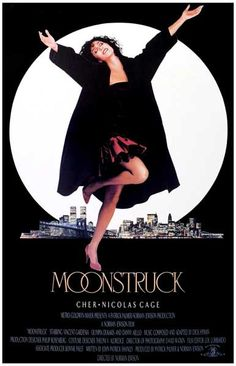 A great poster! Cher and Nicholas Cage star in the critically-acclaimed romantic comedy Moonstruck which won 6 Academy Awards! Ships fast. 11x17 inches. Need Poster Mounts..?