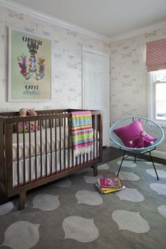 Nursery - modern - kids - san francisco - by Jute Interior Design