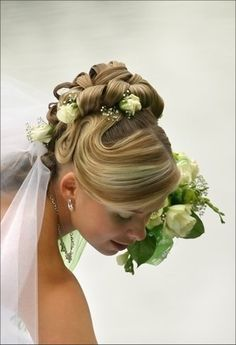 perfect hair for wedding day