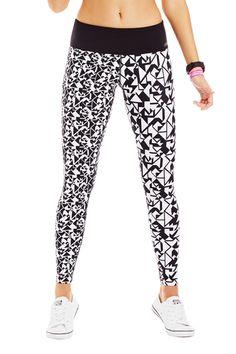 Lorna Jane Isometric Tight, Love the pattern, want these ones!! #LORNAJANE #LJFITLIST