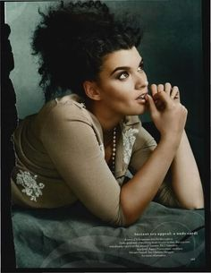 """Contradictions in the Depiction of """"Plus-Size"""" Model Crystal Renn » Sociological Images"""
