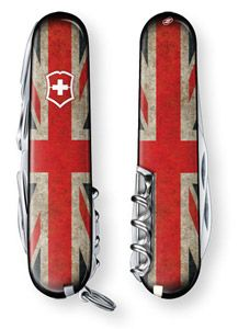 Union Jack Swiss army knives