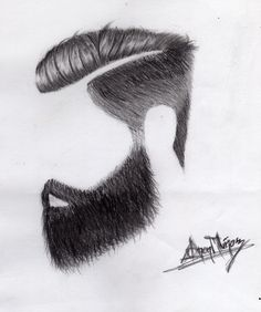 Hair Style, Draw made by me