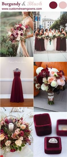 BURGUNDY AND BLUSH WEDDING! Burgundy Bridesmaid Dresses!! A-Line Chiffon Gown with Sweetheart Neckline, Ruched Crossover Bust, Empire Waist, Flowing A-Line Floor Length Skirt, Back Zipper Close. #burgundywedding #burgundybridesmaids #bridesmaids #bridesmaiddresses #customdreamgowns #burgundyandblush #wedding #bridalgowns #bridesmaidgowns #custombridesmaiddresses #custombridalgowns