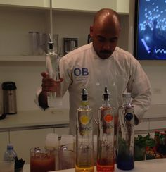 Open Bar Hospitality - New York, NY, United States. Make some Ciroc Cocktails for some VIP