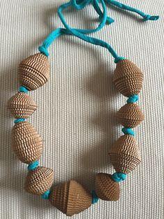 paper necklace di ONLYollyONE su Etsy