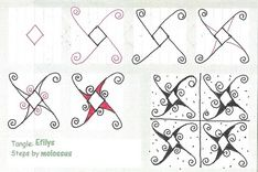 BobbieHargrove's clips for tagset #Zentangle Patterns