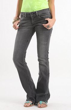 Fox Dark Torque Bootcut Jeans at PacSun.com