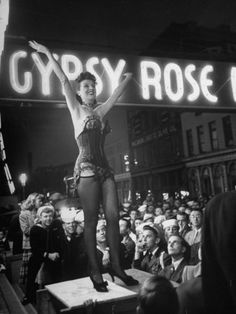 Gypsy Rose Lee, Burlesque legend and beautiful woman who was ahead of her time.