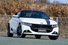 """PHOTO 092: Car: HONDA: S660: 写真で見る ホンダ「S660(プロトタイプ)」 - Car Watch HONDA """"S660 (Prototype)"""" In Photos - Car Watch (http://car.watch.impress.co.jp/docs/news/photo/20150326_694590.html) HONDA S660 Prototype has been unveiled to the media in the before a commercial version formal announcement. There are 3 types, α, β, and Modulo (β-based version equipped with optional parts). Please watch the photography from Japan Web media """"Car Watch"""". Mechanism-maximum, Man-minimum. That's HONDA """"S""""."""