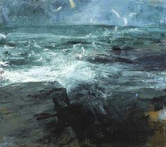 Donald Teskey http://donaldteskey.com  Ocean frequency 2013 163 x 182 cm 64 x 72 oil on canvas