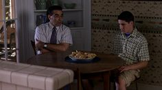 This image is from the comedy movie American Pie. This early 2000's movie is a testament to Generation Y and also teenagers in general. The movie goes through the everyday lives of a group of teenagers and how they deal with the issues of coming of age. This movie sheds light on all the awkward situations that we face or faced as teenagers in a humorous and entertaining way and reminds us that we shouldn't take ourselves so seriously.