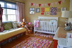 Futon in nursery