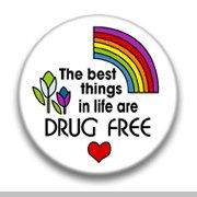 The Best Things in Life Are Drug Free by mysticdragonss on Etsy, $1.50