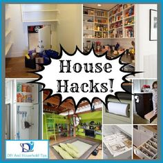 DIY And Household Tips: 13 House Hacks