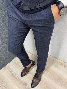 Marc Suit Vest, Vest Jacket, Navy Slim Fit Suit, Navy Vest, Winter Collection, Navy Blue, Suits, Plaid, Street Style