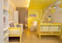 Poru criança é alegria # Decor amarelo lindo #  Habitissimo
