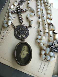comfort of the rosary.....