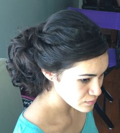 Bridesmaids hair side do http://lisaleming.com/blog/