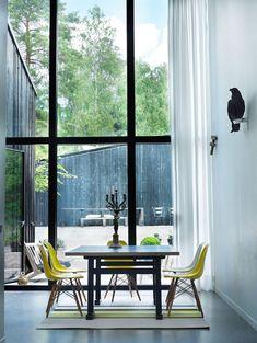 Double height windows