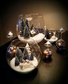 Simple Diy Christmas decorations dot your holiday Simple and easy diy Christmas decorations,Christmas candle holders, Christmas crafts Silver Christmas Decorations, Rustic Christmas, Simple Christmas, Christmas Holidays, Christmas Scenes, Dollar Store Christmas, Diy Christmas Ornaments, Christmas Centerpieces For Table, Christmas Lanterns Diy