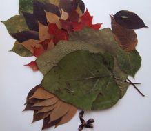 Basteln mit Blättern: Blättertiere und Laubfiguren
