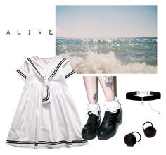 """mostly alive"" by ledancekitty ❤ liked on Polyvore featuring Wanted and Monsoon"