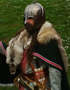 Early Anglo Saxon warrior in full kit.