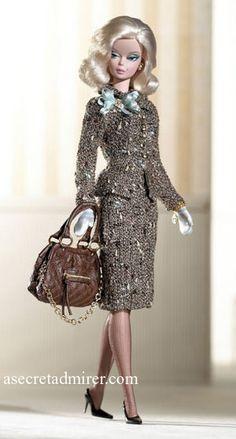 """Tweed Indeed"" Collectible Barbie Doll"