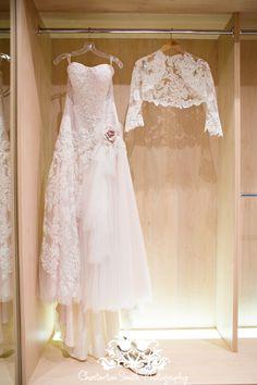 www.chestertonsmith.com Lace Wedding Dress and Bolero