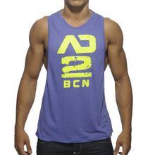27cc8eb7ec186 Men s Sleeveless Fitness Top   Shirt Mens Fitness