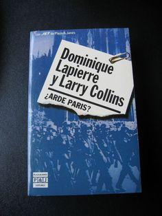 "Lapierre-Collins ""Arde Paris?"" Paperback Spanish Edition Book Libros en Espanol"