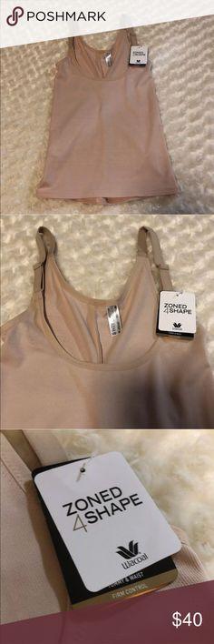 Wacoal Zoned 4 Shape Cupless Camisole Shaper Wacoal Zoned 4 Shape Cupless Camisole Shaper  Size: Small  Color: Beige/nude  New with tags Wacoal Intimates & Sleepwear Shapewear