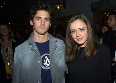 milo and alexis (jess & rory, my favourite couple in Gilmore girls) on-screen and off.
