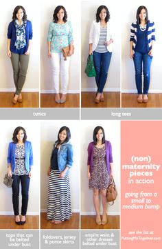 Putting Me Together: Small to Medium Bump - (Non)Maternity Style