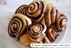 Kakaós-fahéjas csiga és pillangó Pancakes, Cooking Recipes, Breakfast, Food, Morning Coffee, Crepes, Pancake, Chef Recipes, Eten