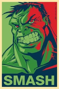 Hulk, I always tell my husband he scares me when he gets really mad. He turns…