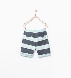 ZARA - NEW THIS WEEK - Striped shorts