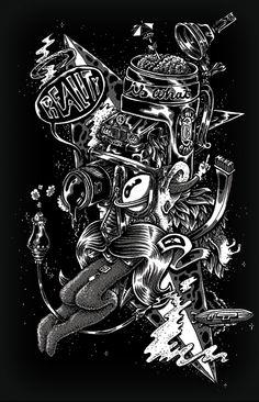 some Illustration 2010/11 by PEACHBEACH , via Behance