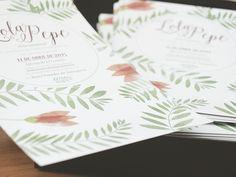 Invitaciones de Lola y Pepe | milowcostblog