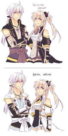 FE:A/FE:if - Samurai Tacticians by Cynphonium (This would have been a really good alternative if the Kamui design hadn't come about).