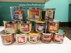 Box Opening: Bath & Body Works Fall Candles | Candle Scoop