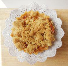 Tarta crumble de manzana - Süss Pastelería