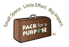 Pack for a Purpose Clearinghouse for bringing donations when you travel (i.e., school supplies) to destinations in need.